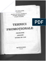 Tehnici Promotionale-Virgil Balaure