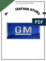Genereal Motors Orgn Study