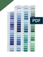 DMC Colour Chart 2