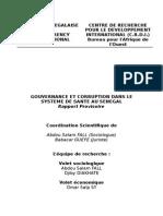 Gourvernance Et Corruption SS Sénégal 2005 PHR