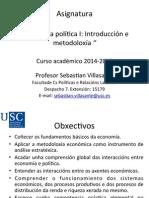 Presentación Economia Política 2014 2015 SV