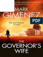 The Governor 39 s Wife by Mark Gimenez