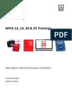 NFPA 13_14_20_25 _2015 Announcement