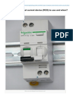 Electrical-Engineering-portal.com-Which Type of Residual Current Device RCD to Use and When