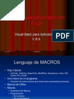 Macros Personalizadas en Excel
