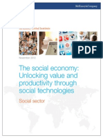 McKinsey Insights the Social Economy Social Sector