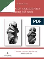 La Coleccion Arqueologica Alberto Paz Posse - Por Sara Peña de Bascary