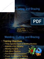 Welding Cutting Demo