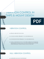 Vibration Control in Ships & Mount Design
