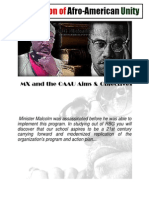 42439932 Organization of Afro American Unity Minister Malcolm X and the OAAU Aims and Objectives Multi Media