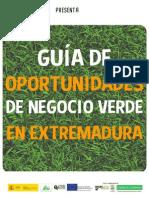 Oportunidades de Negocio Verde en Extremadura