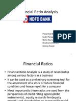 Financialratioanalysis Hdfcbanknew 121106041313 Phpapp02