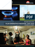 PLAN ENERGÉTICO NACIONAL 2014-2025