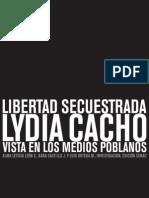 Libertad secuestrada Lydia Cacho.