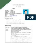 Curriculum Vitae of Bi Nguyen Doc 1413115135