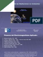 Aplicacionelass de radiaciones no Ionizantes