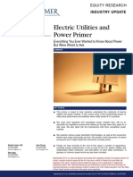 Electric Utilities and Power Industry Primer Oppenheimer 2009
