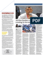 Airline Leaders Show Strength Coming to Terms With Tragedy - Gulf Times 1 Jan 2015