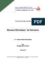 Cours réseau électrique ENIT