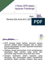 Fungsi dan Peran AFR dalam PelayananFisioterapi.ppt