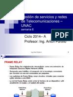 Gestion de Redes de Telecomunicaciones Semana 6 - UNAC v1.1
