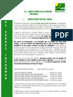 Los Verdes - Director CREAA