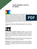 % 0 La Comunicación Analógica Versus La Comunicación Digital