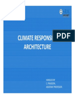 Climate Responsive Arch