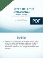Diabetes Mellitus Gestasional