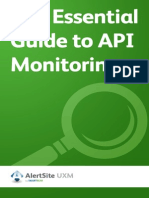 Essential Guide to API Monitoring
