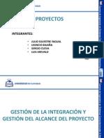 Gestion de Integracion y Alcance de Un Proyecto_ Exposicion