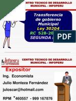 002.2 Transferencia de Gobierno - Proceso