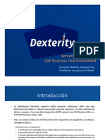 Dexterity Hospital One - Platform Servers Deployment System LandScape