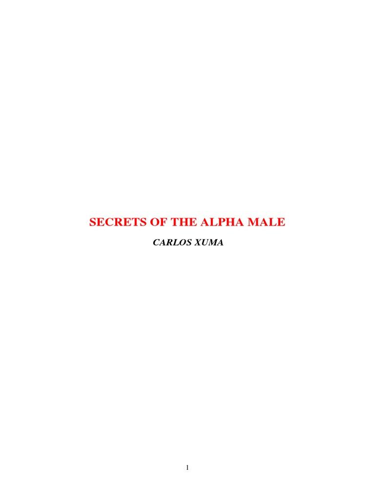 Alpha mentalità maschile incontri