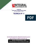 T11 honorarios profesionales