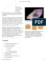 Crystal -Crystalline and Non-crystalline Materials