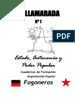 Cuadernillo de Formación Política de Fogoneros I