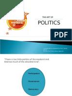 The Art of Politics by Randy David