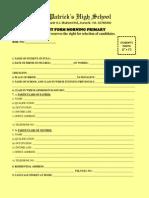 Admission Form 2015