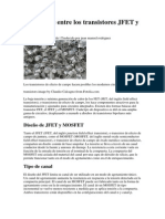 Diferencias Entre Los Transistores JFET y MOSFET