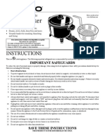 Multi Cooker manual