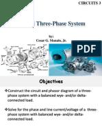Balanced Three Phase System