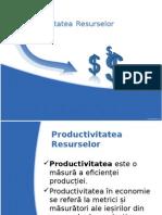 Productivitatea Resurselor