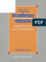 Highly Recommended Workbook - English for the Hotel and Catering Industry