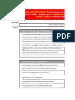 Planilha de 5 Forças Competitivas de Porter - Demo