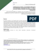 Diseño y Elaboración de Férula Tipo Tenodesis