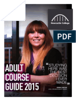 Adult Course Guide 2015