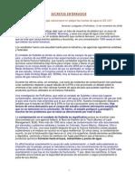 2012 Contaminacion del Agua en Wyoming Informe de Propublica en Castellano