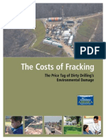 2013 The Costs of Fracking in US