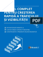 Ghid Complet Trafic Vizibilitate BrandUp Interactive